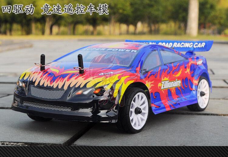 Auto Radiocomandata 1:16 SST HSP Zillionaire 4Wd 4 Ruote Motrici 2.4Gh