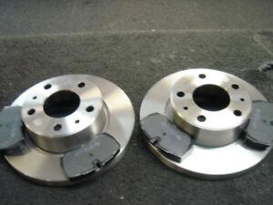Details about IVECO DAILY 29 L9 L10 L11 99-05 BRAKE DISCS & PADS REAR