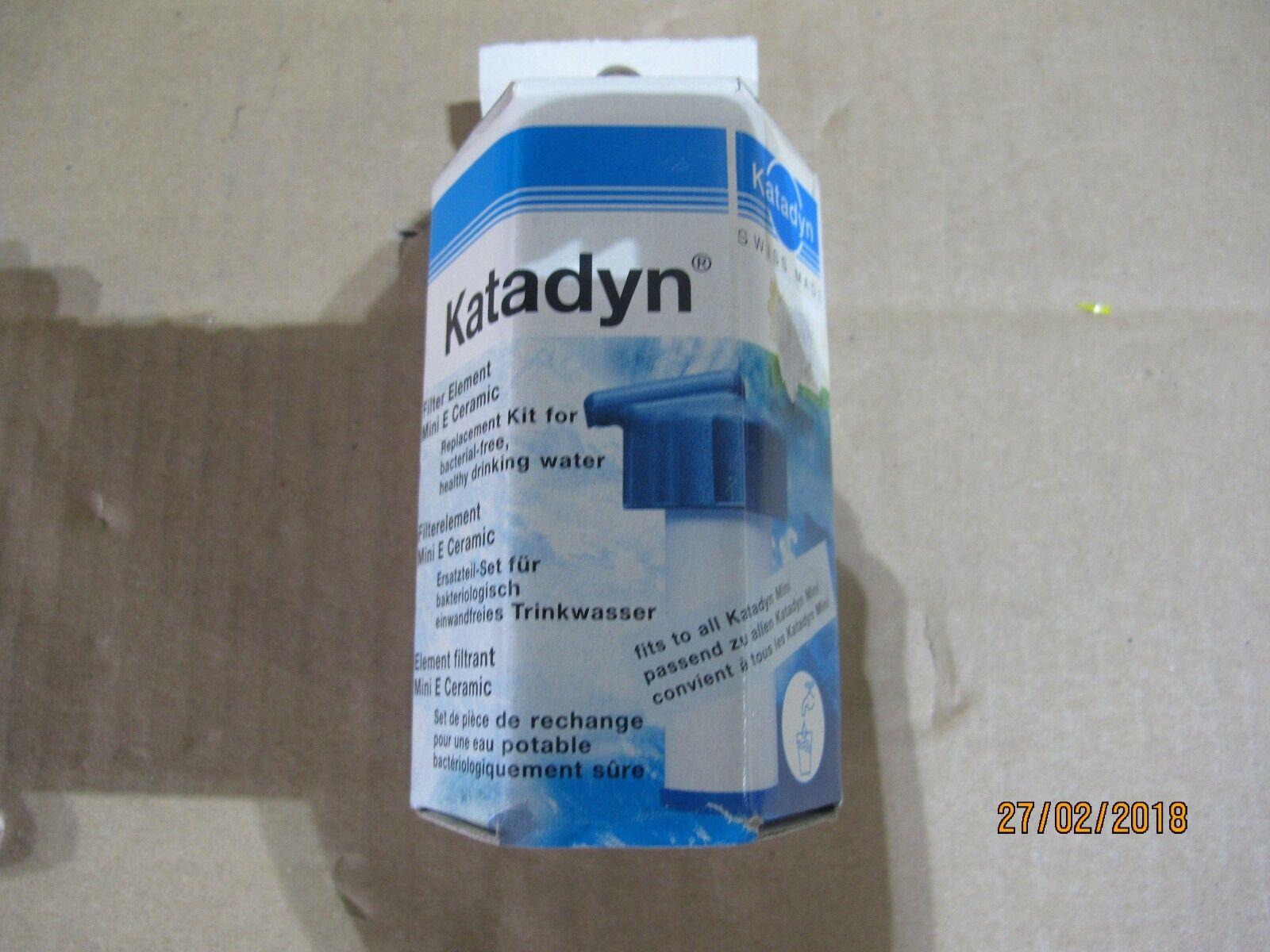 0360  Katadyn Ersatzteil Set Filterelement Mini E Ceramic Ceramic Ceramic 49772d