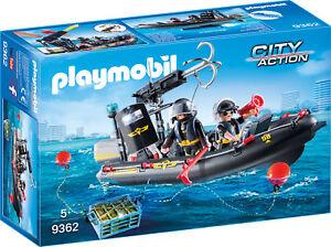 PLAYMOBIL-9362-SEK-Schlauchboot-NEU-amp-OVP