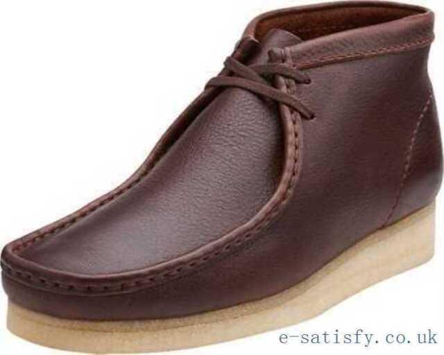 Clarks Originals Mens M ** Wallabee Boot Navy Tumbled Lea ** UK 7,8,9,10,11,12 G