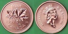 1997 Canada Penny Graded as Specimen From Original Set
