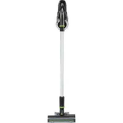BISSELL - MultiReach Bagless Cordless Stick Vacuum - Gray with green accents