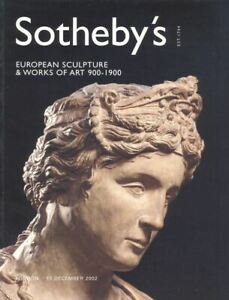 Sotheby-039-s-Catalogue-European-Sculpture-amp-WOA-900-1900-2002-HB