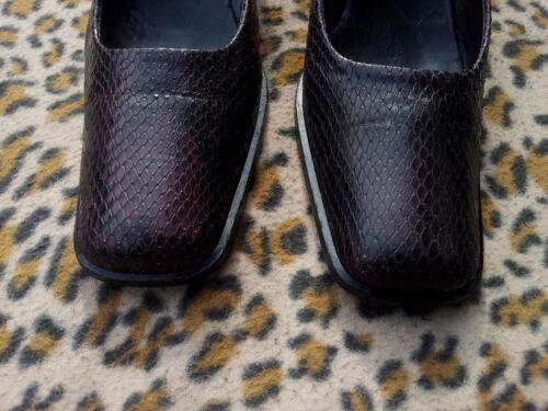 serpent Alberto 7 par en 5Uk italiennes Chaussures de Gozzi peau 40 Pointure 5 thQsrdC