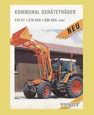 Fendt 370 GTK//GKA 380 GKA turbo Kommunal Geräteträger
