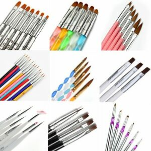 Nail-Art-UV-Gel-Polish-Design-Dot-Painting-Detailing-Pen-Brushes-Tool-Set