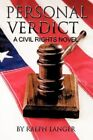Personal Verdict a Civil Rights Novel 9781456766962 by Ralph Langer Paperback