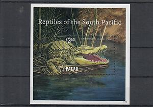 Palau-2014-neuf-sans-charniere-reptiles-de-du-Pacifique-Sud-1v-s-s-ii-saltwater-crocodile-faune