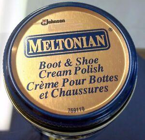ff9376b78da6c Details about Meltonian DARK BROWN 10 Boot & Shoe CREAM Polish Shine  Protect Leather shoes #10
