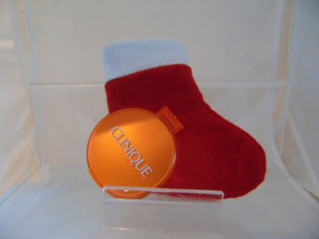 CLINIQUE  HAND BAG XMAS BELL SHAPE STOCKING FILLER  GREAT VALUE