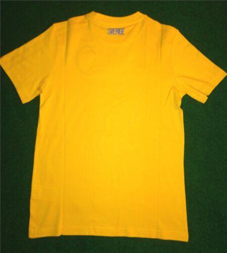 Größe 152 Schweden T-Shirt Tee ADIDAS für Kinder/Kids Sverige Sweden SVFF
