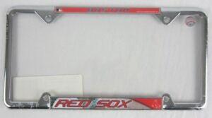 NEW-2-pack-Fanmats-Boston-Red-Sox-License-Plate-Frame-Cover-Chrome-MLB-Baseball