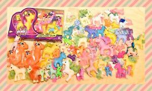 ❤️My Little Pony MLP G1 Vintage Fake Phony Lot of 60 Ponies NIB Lanard Toys❤️