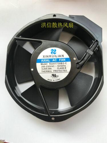 for XINRUILIAN RAH1738B2-C Axial AC fan 200-230VAC  50//60Hz 172*150*38mm