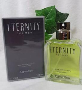 Details about Eternity Calvin Klein 6.7oz 200ml EDT Spray Authentic Perfume*for Men's*New Box