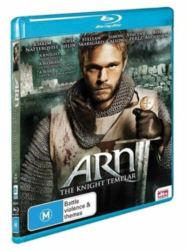 1 of 1 - Arn - The Knight Templar (Blu-ray, 2010) ACTION [Region B] NEW/SEALED