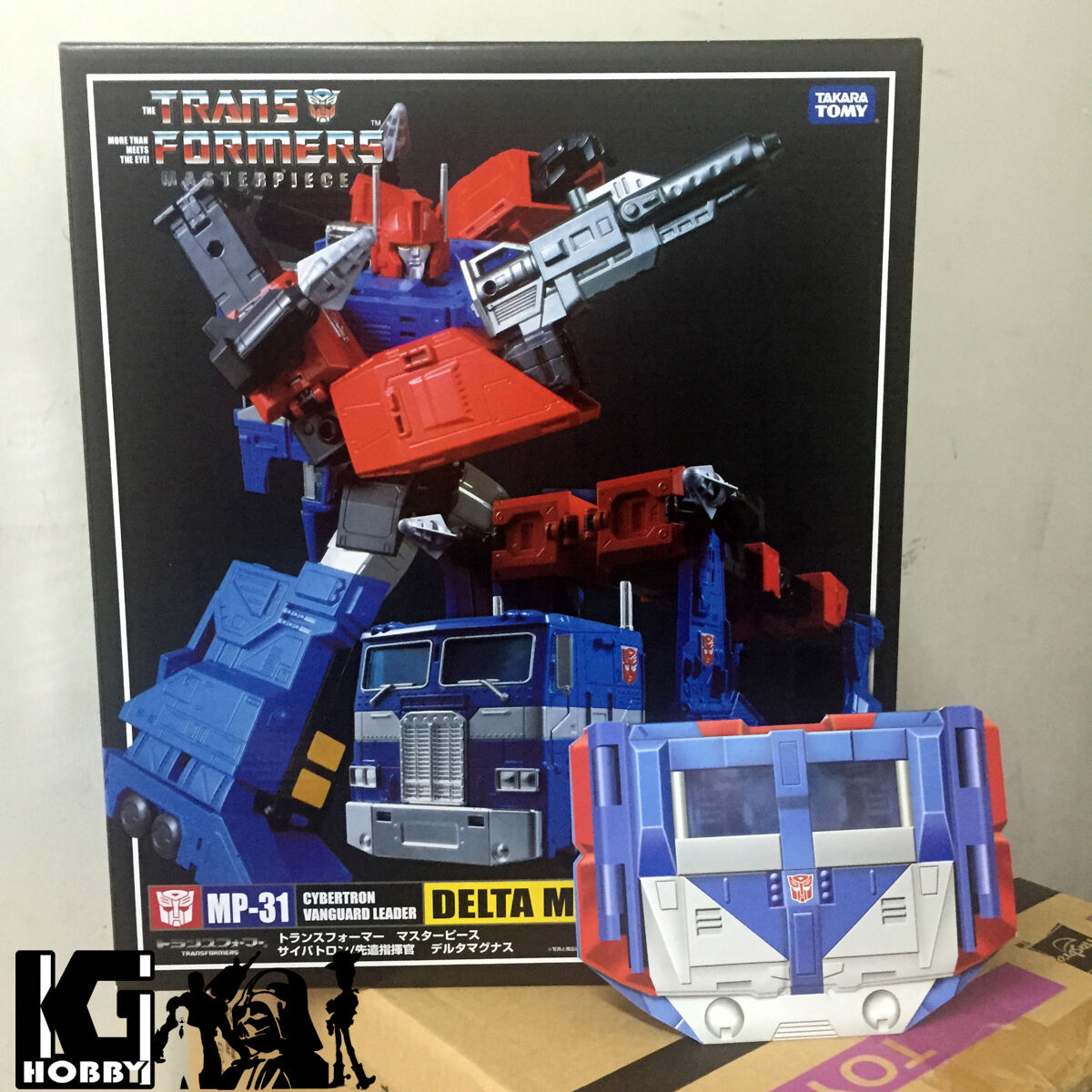 @ @ Takara Transformers Masterpiece MP31 DELTA MAGNUS DIACLONE cifra  Coin 04 @ @