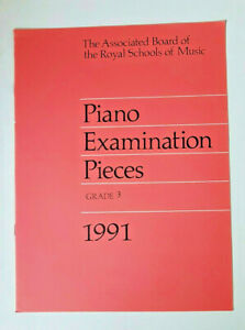 Abrsm Piano Examination Pieces 1991 Grade 3-afficher Le Titre D'origine