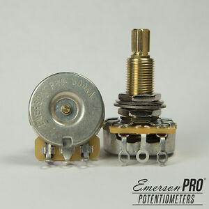 Emerson-Custom-CTS-Potentiometer-Long-Bushing-Split-Shaft-500K