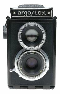Argus Argoflex E 620 Film TLR Camera F4.5 Anastigmat
