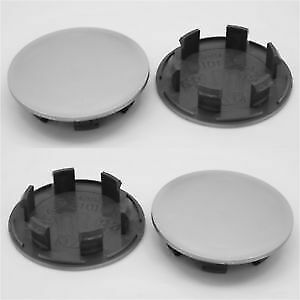 4 x ALLOY WHEEL HUB CENTRE CAPS 74mm OD 58mm ID DOMED  Borbet Ronal Aluett