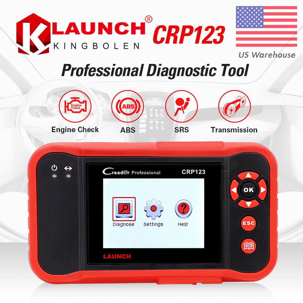 Launch X431 Crp123 Obd2 Diagnostic Tool Auto Scanner