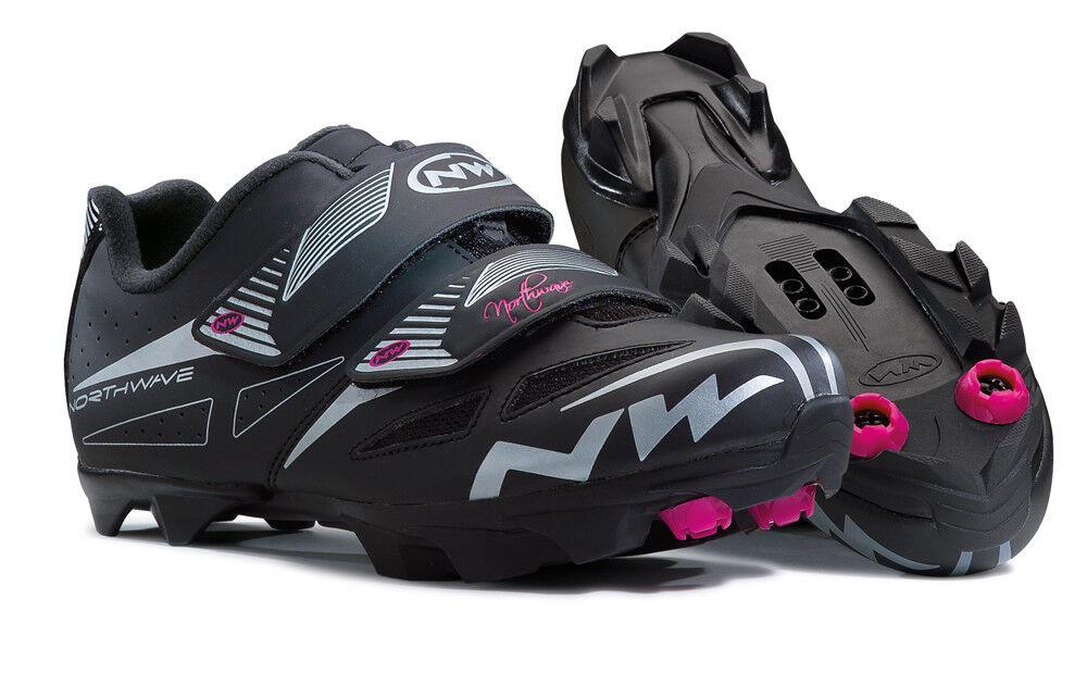 Northwave Elisir Evo Damen MTB Fahrrad Schuhe Schuhe Schuhe schwarz 2018 8d6023