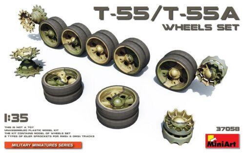 Neu Miniart 37058-1//35 T-54//T-55A Wheels Set
