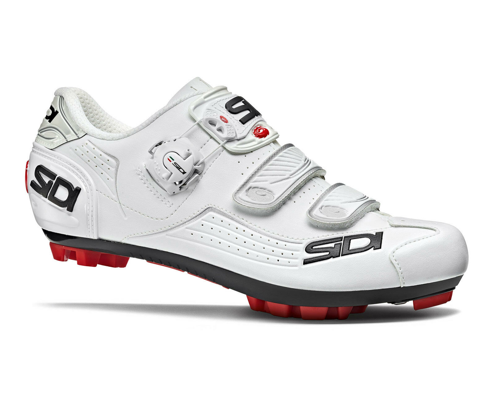 Zapatos De Ciclismo Mtb Sidi Trace-blancoo blancoo
