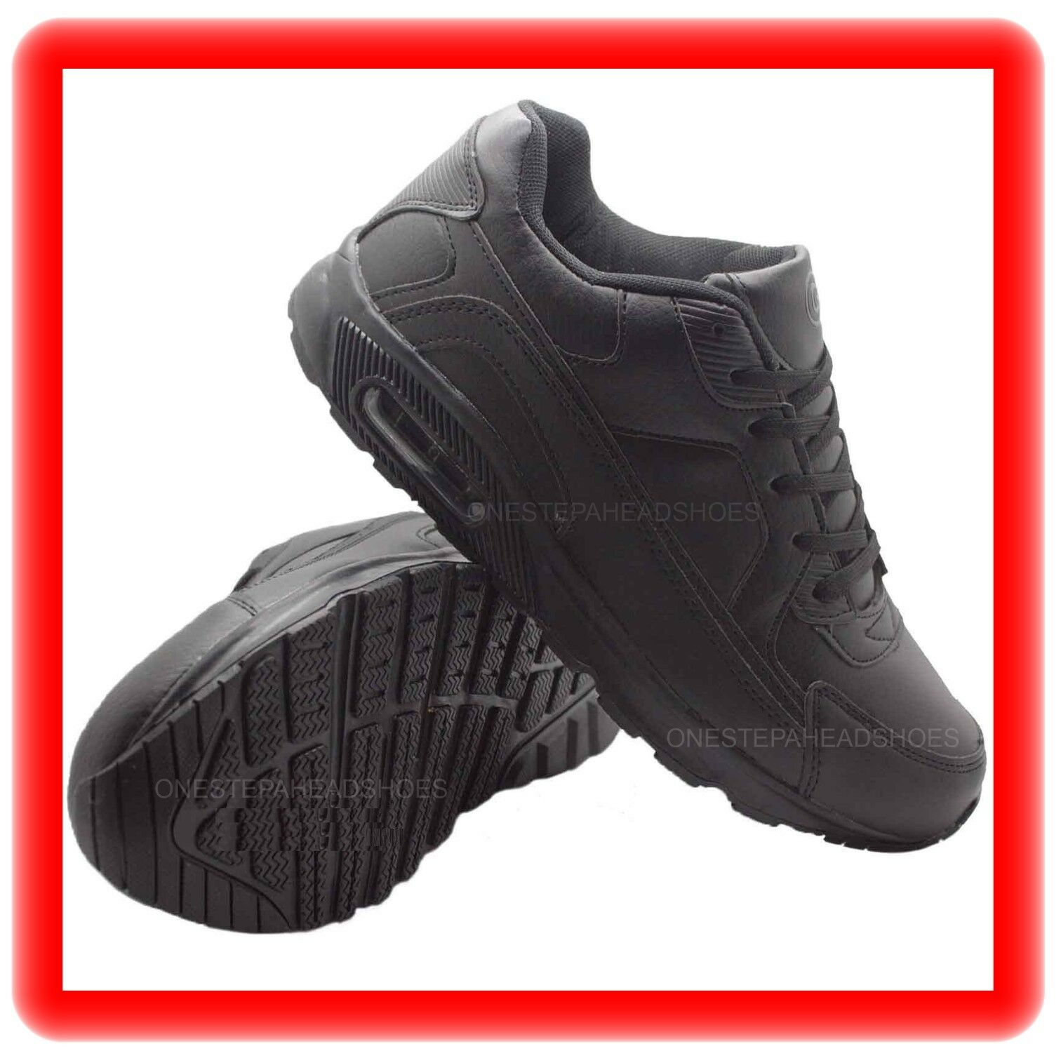 MENS NEW BLACK  casual AIR  running gym casual   sport jogging TRAINER SHOES  SIZE 10/44 784ac6