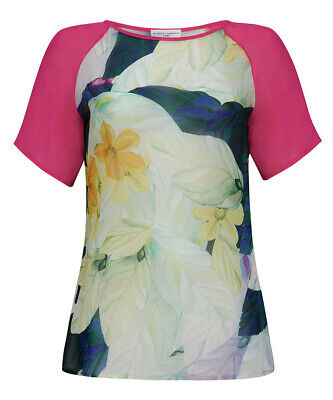 Almost Famous Pale Pink Viscose Top Size 10 NWT Sample SP £105