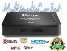Cinema Casa Phonocar VM 540 VM540 Lettore Multimediale Auto USB HDMI Full HD