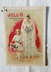 VINTAGE JELL-O 1916 America's Most Famous Dessert Recipe Advertising Booklet