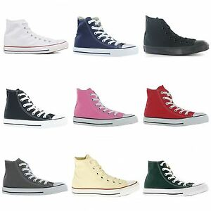 Converse-Chuck-Taylor-All-Star-Hi-Canvas-Mens-Womens-Ladies-Unisex-Trainers