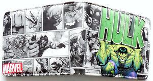Avengers-The-Hulk-Wallet-Geldboerse-ID-Fenster-Kartenschlitz-Zip-Coin-Pocket-Mark-Ruffalo
