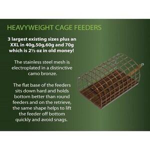 DRENNAN heavyweight cage feeders swimfeeders toutes tailles  </span>