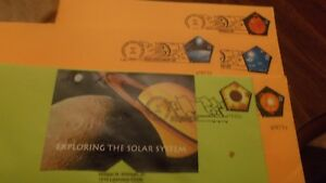 U-S-FIRST-DAY-COVER-SET-2000-3410a-e-EXPLORING-THE-SOLAR-SYSTEM