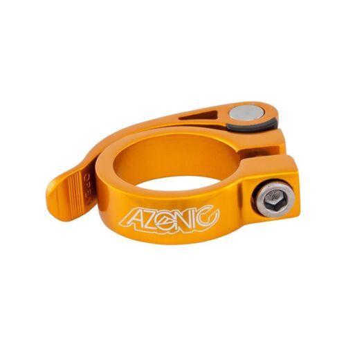 Azonic Bicycle Seat Clamp Gonzo 34.9mm Orange Model 3034-203