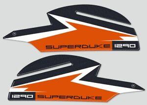 PROTEZIONI LATERALI SERBATOIO Sticker 3D compatibili MOTO KTM 1290 SUPER DUKE GT