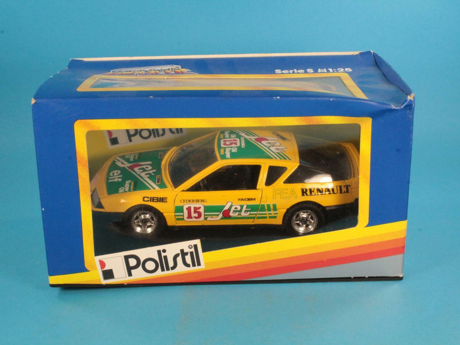 1 25 POLISTIL S 02304 RENAULT ALPINE TURBO FONDO MAGAZZINO [RU3-015]