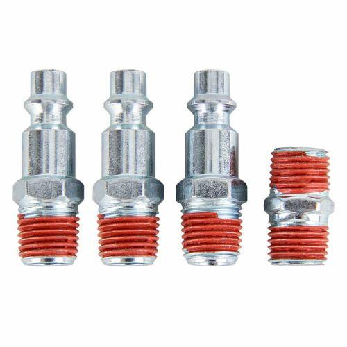20PACK Air Compressor Accessory Kit Tool 25FT Recoil Hose Gun Tire Nozzles Set