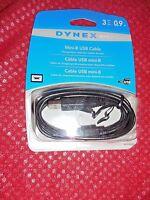 DYNEX MINI USB CABLE 3 FT DX-C102201