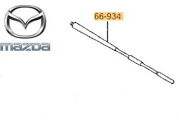 Genuine Mazda 2 2007-2014 Radio Antenna-Albero solo-d35066a30