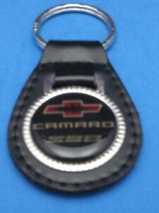 CHEVY CAMARO Z-28 AUTO LEATHER KEYCHAIN KEY CHAIN RING FOB #010