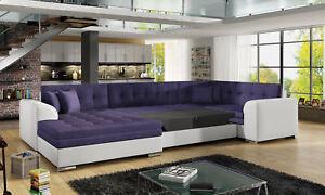 Gaeste-Zimmer-Wohnzimmer-Polster-Schlafsofa-Bettfunktion-Sofa-Couchen-Couch-Neu