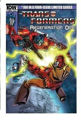 Transformers BotCon Fan Expo Regeneration One #100 IDW Exclusive Comic