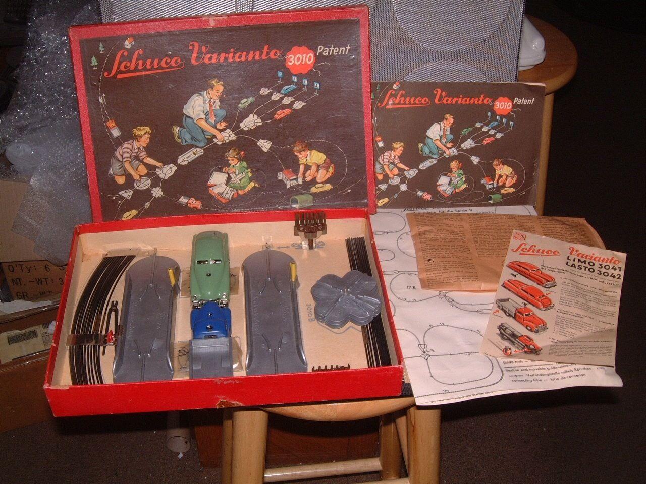 Schuco varianto 310 b完全なセット。完全に作業&それのボックスを完了!