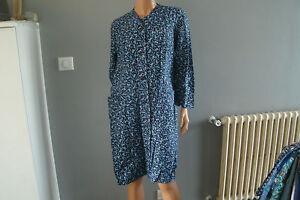 blouse nylon  nylon kittel  nylon overall  N° 1527 T42/44
