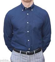 Brutus Navy Oxford Long Sleeve Shirt Skinhead Ska Mods Oi Northern Soul Trojan